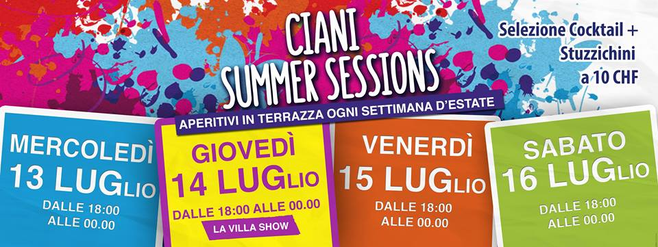 Ciani Summer Sessions Settimana 4