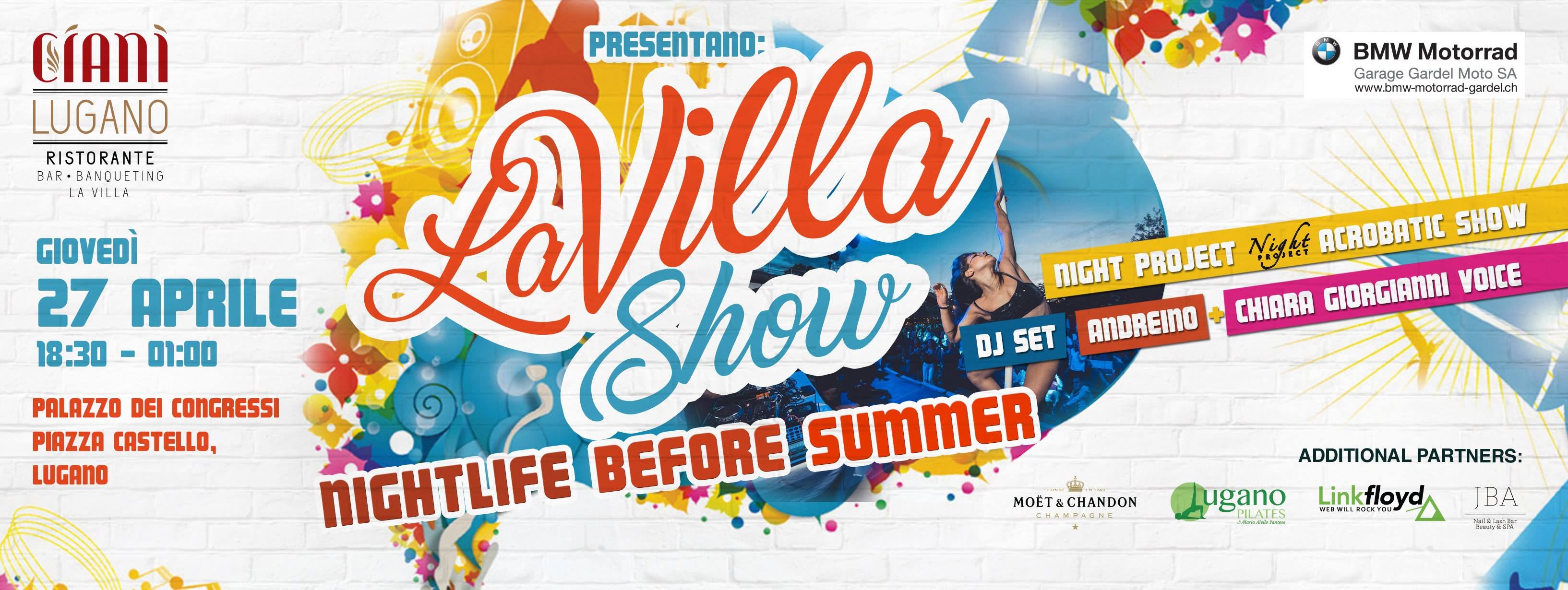 La Villa Show: Nightlife before Summer!