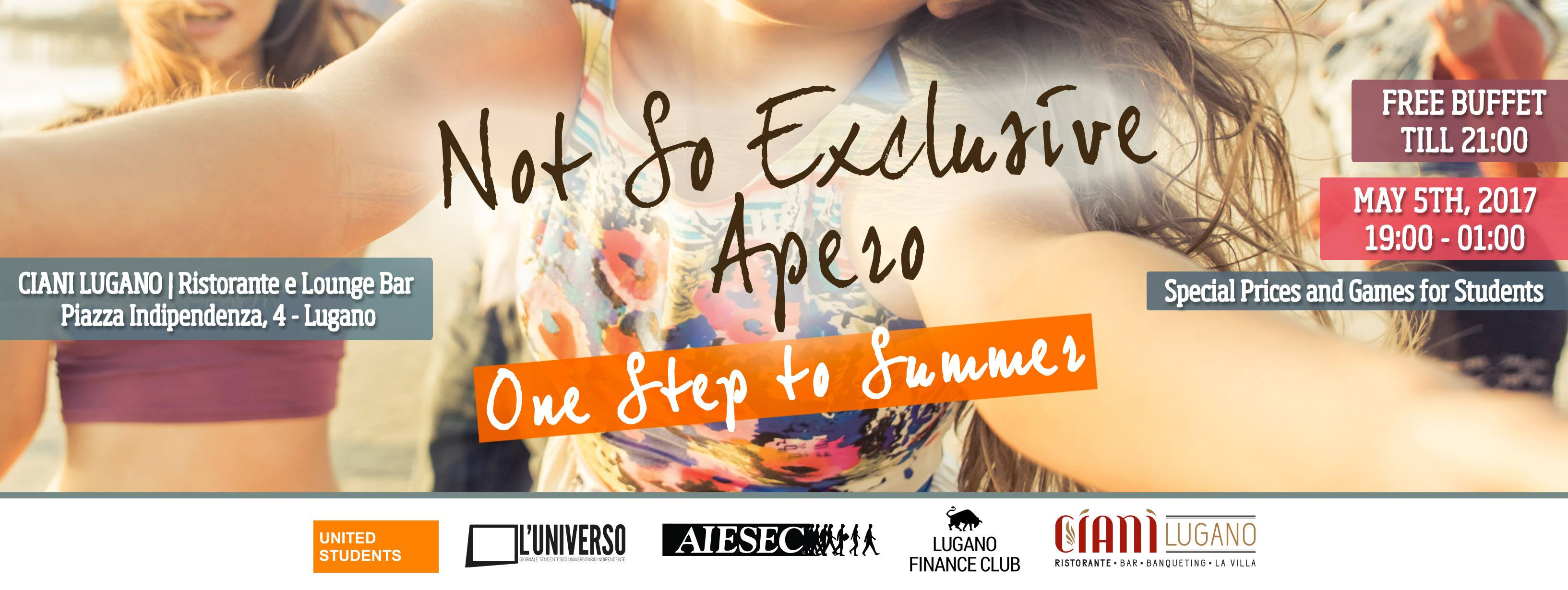 Not So ExclUSIve Apero - One Step To Summer